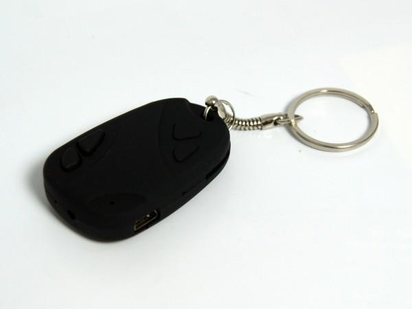 Micro Spion Kamera für den Schlüsselbund, mit MicroSD-Slot und USB-Anschluss