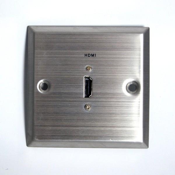 HDMI-Wand-Anschlussblende Wandanschluss HDMI-Anschluss