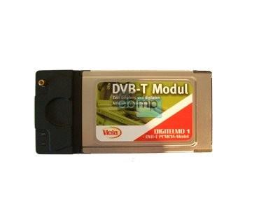 DVBT DVB-T Notebook Receiver-Karte PCMCIA mit Antenne