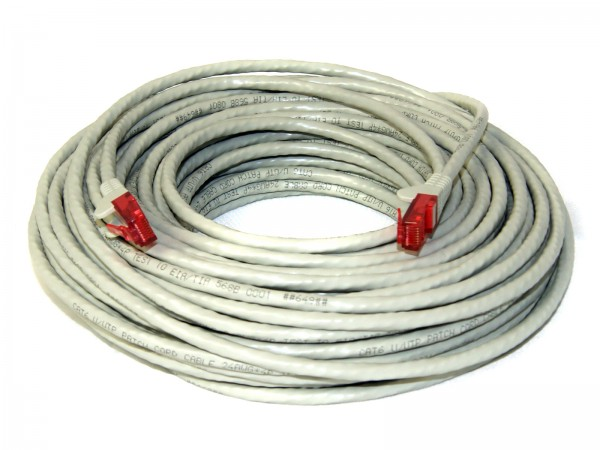 CAT 6 S/FTP PIMF Kabel 25m grau
