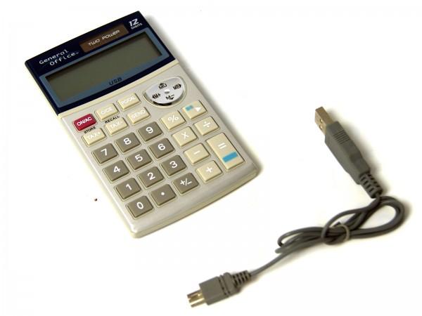 Keypad Taschenrechner Taschen-Rechner mit USB-Nummernpad-Funktion