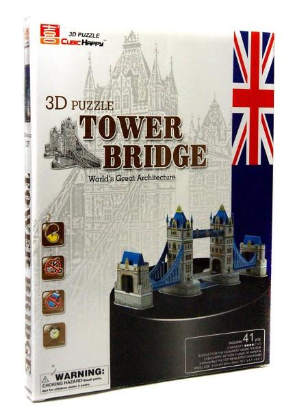 XXL 3D Puzzle TOWER BRIDGE LONDON - genialer Aufbau ohne Kleben