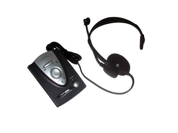 Profi-Headset TELEFON Telefonheadset-Anlage für Festnetz und ISDN-Telefon