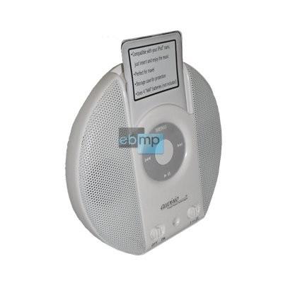 Stereo-Sound-Station m.Aktiv-Boxen für iPod nano 1+2+4